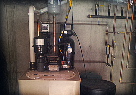 Watertech Radon Removal System